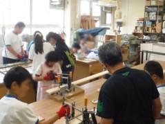 木工班作業風景1