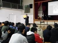 高1代表生徒による発表