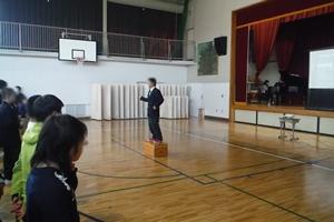 校歌斉唱 指揮、とても上手で歌いやすかったです!